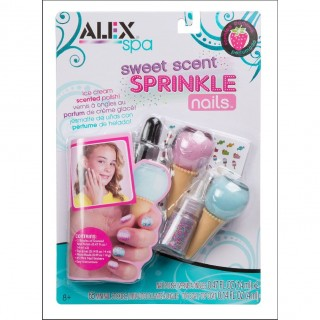 ALEX Toys Sweet Scent Sprinkle Nails