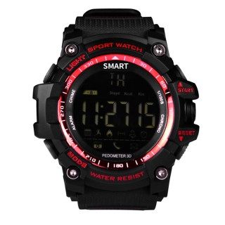 AiWatch IP67 Waterproof Bluetooth Smart Watch EX16 Sport Sleep Alarm Wearable Devices Pedometer Fitn