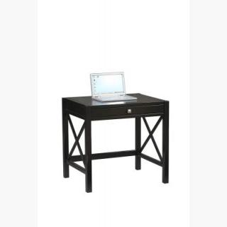 Anna Laptop Desk in Distressed Antique Black