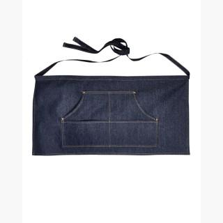 Artisan Collection RP125 Unisex Jeans Stitch Denim Waist Apron - Indigo Denim - One Size