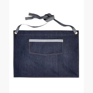 Artisan Collection RP128 Unisex Domain Contrast Denim Waist Apron - Indigo Denim - One Size