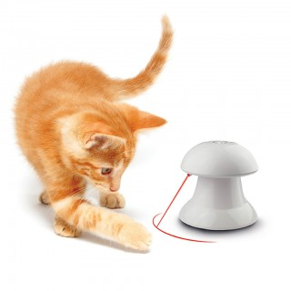 Automatic 360 Degree Rotating Laser Light Cat Interactive Toy