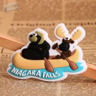 Bear and Cow PVC Magnet
