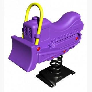 Benny Bulldozer Fun Bouncer