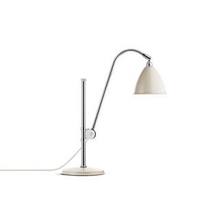 Bestlite BL1 Bordslampa Offwhite/Krom BL1 Table Ø16 Chrome/Off-White