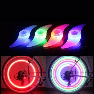 Bicycle Hot Wheels Mountain Bike S-type Spoke Lights Bicycle Riding Equipment Accessories