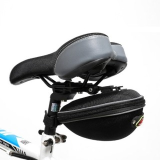 Bicycle tail bag road bike seat cushion kit bicycle rear seat tube bag