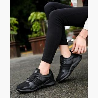 Black Anti-Skidding Running Women's Sneakers