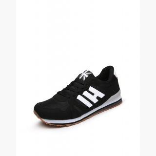 Black Anti-Skidding Track Men's Sneakers