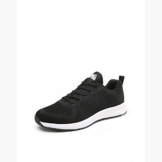 Black Portable Track Men's Sneakers