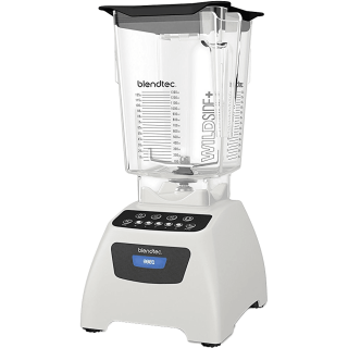 Blendtec Classic 575 with WildSide+ Jar - Polar White