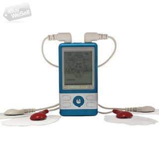 Blue Tens Unit Electronic Pulse Massager