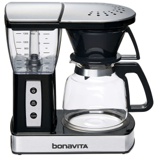 Bonavita Glass 8-Cup Coffee Maker w/ Warming Plate (BV01002US)
