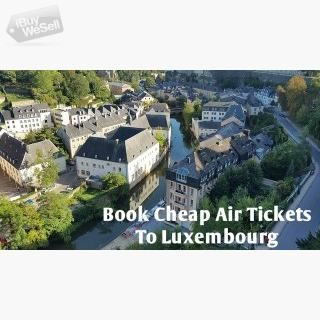 Book Cheap Airfares and Flights To Luxembourg I  Contact me