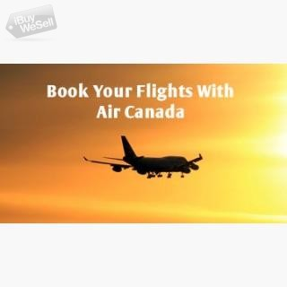 Book Flight Tickets with Air Canada I  Contact me