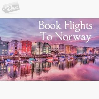 Book Your Business Class Air Tickets To Norway I  Contact me