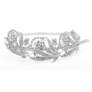 Breathtaking Art Nouveau Bridal Headband