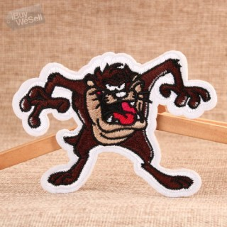 Brown Monster Cheap Custom Patches