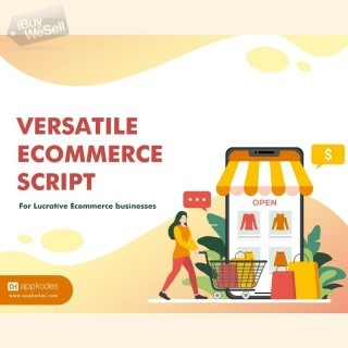 Build a feature-rich comprehensive ecommerce script