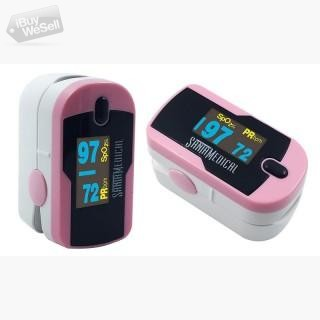 Buy Pink Color OLED Finger Pulse Oximeter