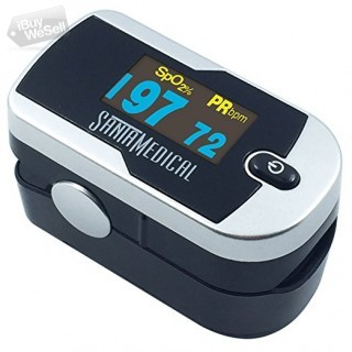 Buy SantaMedical Pulse Oximeter With 1 Year replacement Warranty