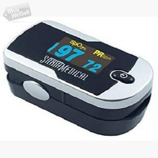 Buy Silver Color Pulse Oximeter at $21.95 on Amazon