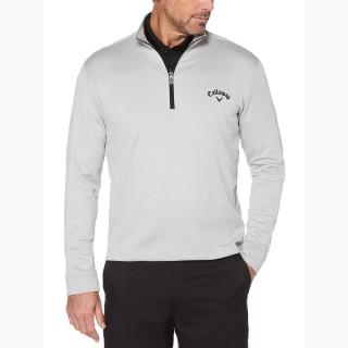 Callaway Big & Tall Opti-Therm Heathered Waffle Fleece Mid-Layer