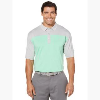Callaway Men's Opti-Dri Heathered Color Block Polo