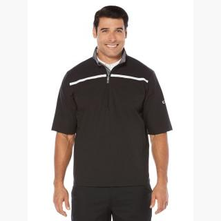 Callaway Men's Opti-Repel Short Sleeve Windshirt