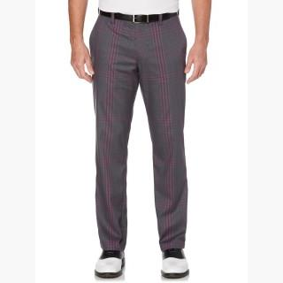 Callaway Men's Opti-Stretch Compact Plaid Pant with Active Waistband