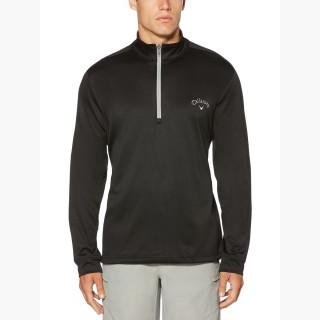 Callaway Men's Opti-Therm Heathered Waffle Fleece Mid-Layer