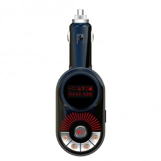 Car FM Transmitter Wireless USB Car Charger SD TF MP3 Player LRC Display Car Electronics Accessorie
