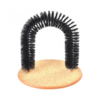 Cat Arch Self Grooming Scratch Pet Toy for Kitten