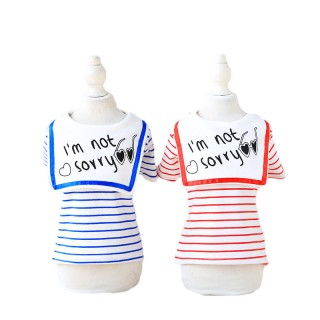 Cat Clothing Pet Shirts Clothes for Dogs Pet Dresses Spring Summer Dress Pet Puppy Summer Shirt