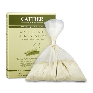Cattier  Ultra Ventilated Green Clay (For Combination and Oily Skin Types) 8.81oz, 250g