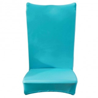 Chair Cover Solid Thin Elastic Banquet Seat Sleeve Chair Wrap Hotel Gift(D)