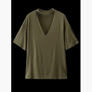 Choker Drop Shoulder T-Shirt
