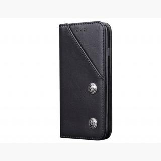 Classic Style Wallet Card Holder PU Flip Case for 4.7 inch iPhone 6/ iPhone 6S (Black)