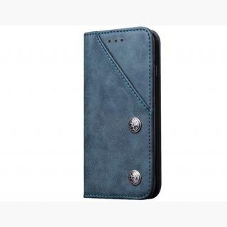 Classic Style Wallet Card Holder PU Flip Case for 4.7 inch iPhone 6/ iPhone 6S (Blue)