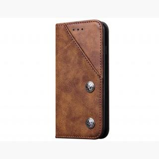 Classic Style Wallet Card Holder PU Flip Case for 4.7 inch iPhone 6/ iPhone 6S (Brown)