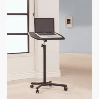 Coaster Laptop Stand Desk in Black