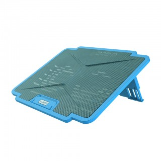 "CoolCold Ice 4 2 Fan Laptop Cooling Pad for 14"" 15.6"" Laptop"