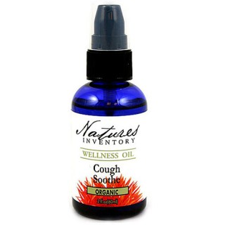 Cough Soothe Wellness Oil, 2 oz, Nature's Inventory
