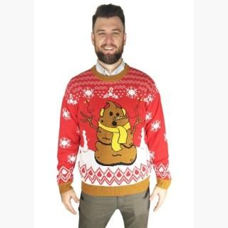Crappy Holidays Adult Ugly Christmas Sweater
