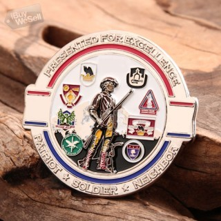 Custom Challenge Coins | 96th Troop Command Challenge Coins Halland
