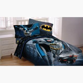 DC Comics Batman Twin Sheet Set - 3pc Guardian Speed Bedding