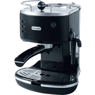 DeLonghi ECO310 Icona Manual Espresso Machine (Black) - ECO310BK