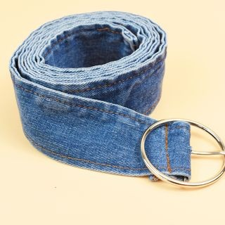Denim Belt Denim Blue - One Size