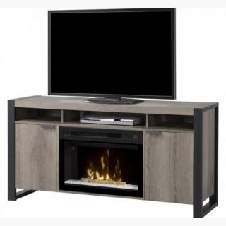 Dimplex GDS25GD-1571ST PIERRE MEDIA CONSOLE, FOR USE WITH 25 Inch FIREBOX, STEELTOWN