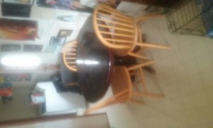 Dinning room table with 3chairs